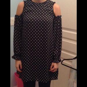 ❤️SALE 2 for 25$❤️ Black and white polka dot dress